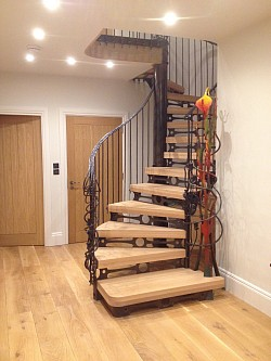 Feature stair - Salcombe, Devon